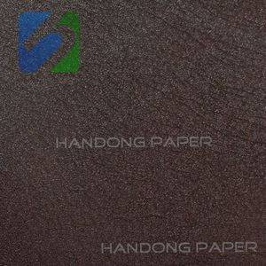 Metallic PVC coated paper/PVC coated wall paper