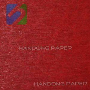 High quality good single face PVC coated Leather Paper