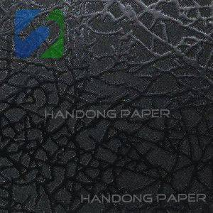 Single Color leather embossed PVC Coat Paper/New paper/PVC paper for packing