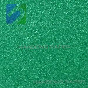 Flat pvc paper laminating sheet wall film embossed pvc coated paper