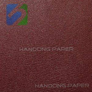 Single PVC Binding Paper For Packing book binding usage Single Color pearl straw grain