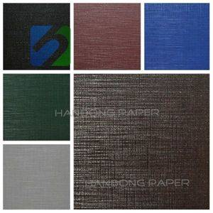 Manufacturer Of Pvc Coat Paper For Packing Book Binding Usage Single Color paper