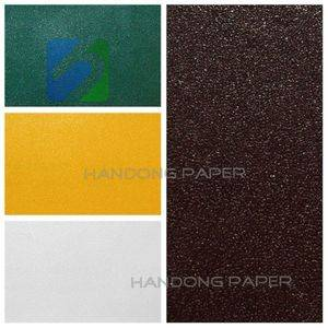 PVC Coated Paper For Packing book binding usage Single Color manufacturer
