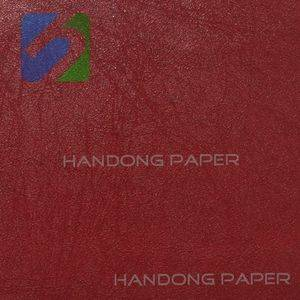PVC Coated Paper For PVC Packing book binding usage Single Color paper manufacturer