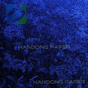 Single Color PVC coated paper for wine box and book binding usage 220 gsm Specialty Fancy Paper