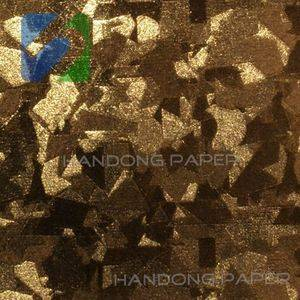 Fashion PVC sheet art paper/Professional factory supply directly pvc coated paper for book binding