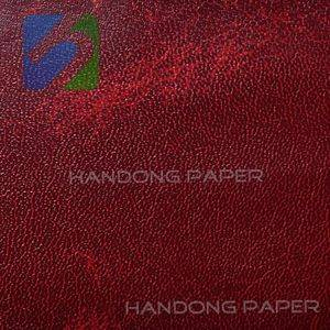 PVC Paper packing paper packing china leatherette paper