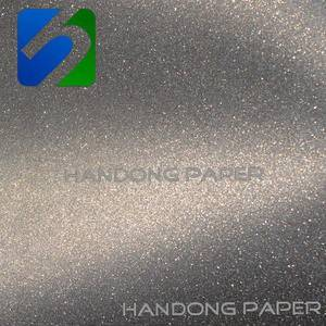 Fashion glitter wrapping paper roll/ adhesive stickers glitter paper