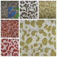 Custom designed glitter paper wholesale Mixed Colorful Glitter
