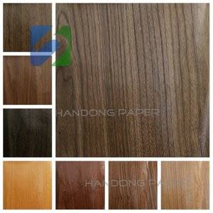 High quanlity waterproof Woodgrained paper/ Reliable quality woodgrain  printing paper