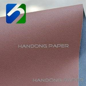 Single color leather paper for wine box book invitation card 160gsm  leatherette paper