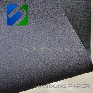 Top wrapping paper leatherette paper similar to the Thermo/Coated  Texture Leatherette Paper