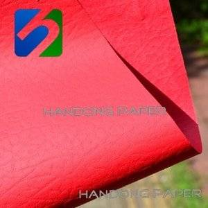 Top quality fashion embossed leatherette paper for covers/Embossed leatherette paper