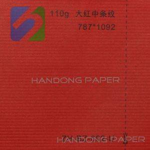 Metallized embossed paper for box making/ Embossed paper wood pulp paper/ pasting paper on gift box