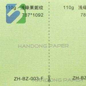(BV Certification main product)colour leather embossed paper/Embossed Colour Texture Paper