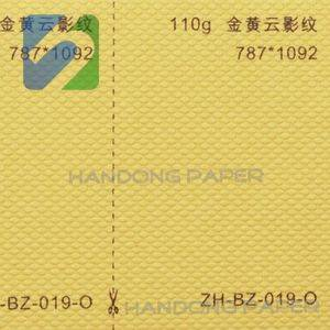 Color goffered paper embossing paper for notebook/Special paper fancy embossed shining paper