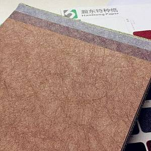 High quality confirmed shopping textured paper metallic paper colorful pvc paper