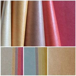 Specialty pvc coated paper for book binding