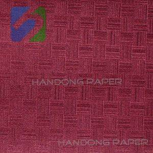 Vinyl PVC Coated covering paper 120g  Specialty Fancy Paper/PVC Bright Color Paper