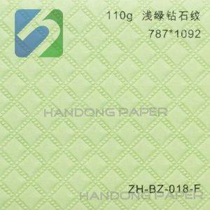 Matte embossed paper for gift box cover and paper bag