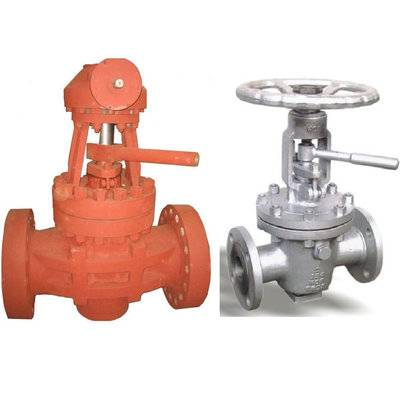 Flange-Connection Lift Plug Valve
