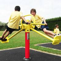 Children outdoor gym equipment surfboard supplier