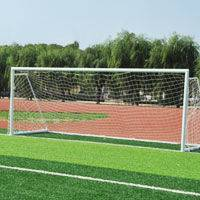 Good quality eleven-a-side aluminum soccer goal football goal post supplier
