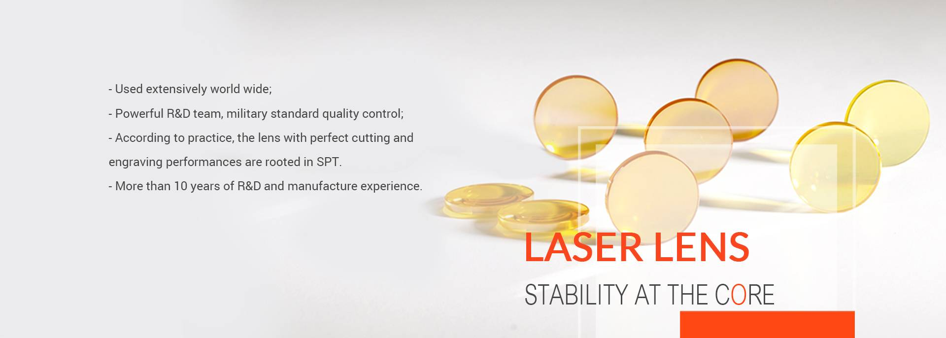SPT Laser,co2 laser,co2 laser tube,co2 laser lens,laser tube manufacturer,co2 laser machine spare parts,co2 laser kit,large size laser marking,3D laser marking,dynamic laser marking