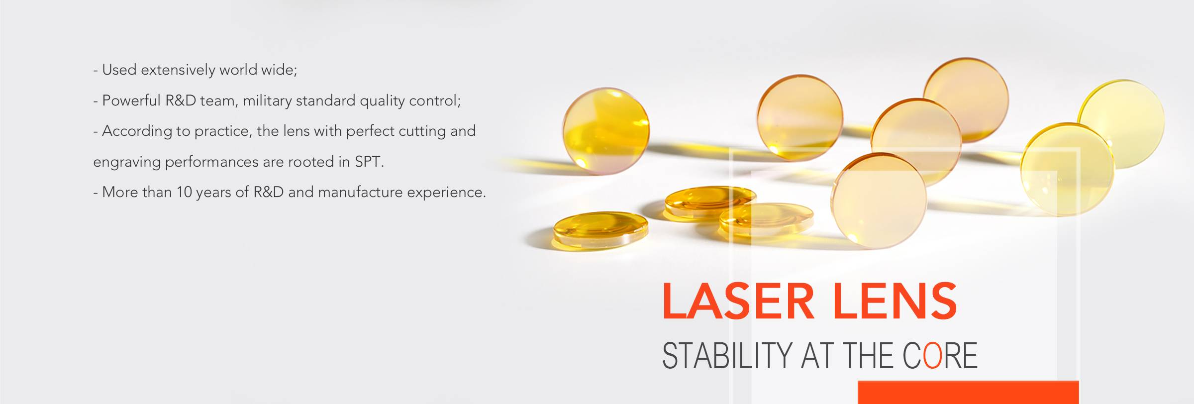 SPT Laser,co2 laser,co2 laser tube,co2 laser lens,laser tube manufacturer,co2 laser machine spare parts,co2 laser kit,RF co2 laser tube,laser tube
