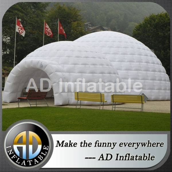 Big inflatable outdoor dome tent for party / cheap