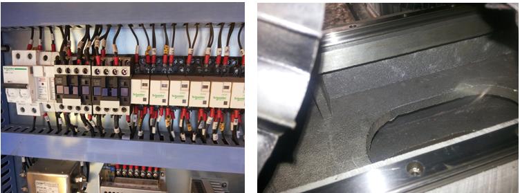 H beam cutting machine details