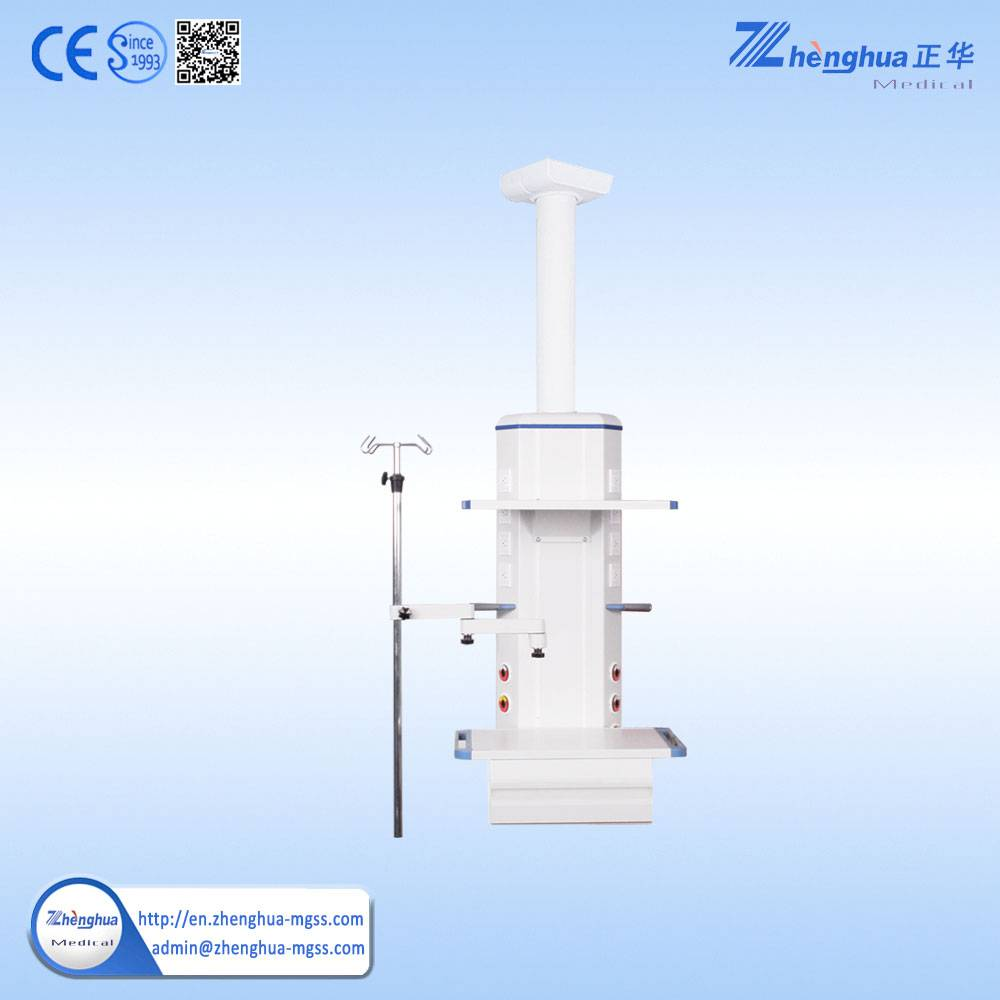 Surgical Icu Crane Tower Aluminum Alloy Beam With Gas