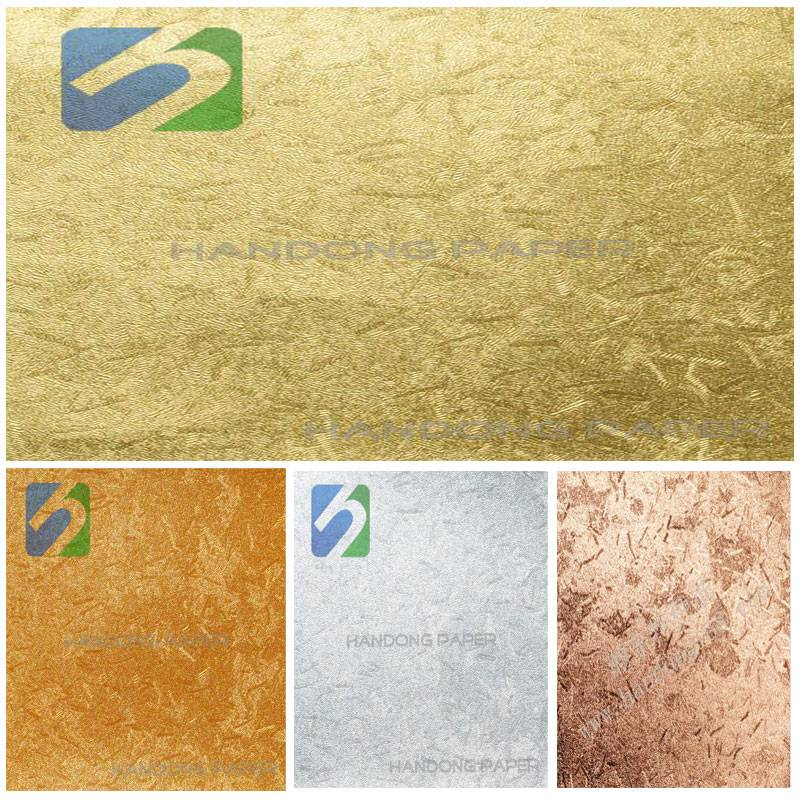 Wholesale PVC Glitter Paper/Color specialty wrapping paper