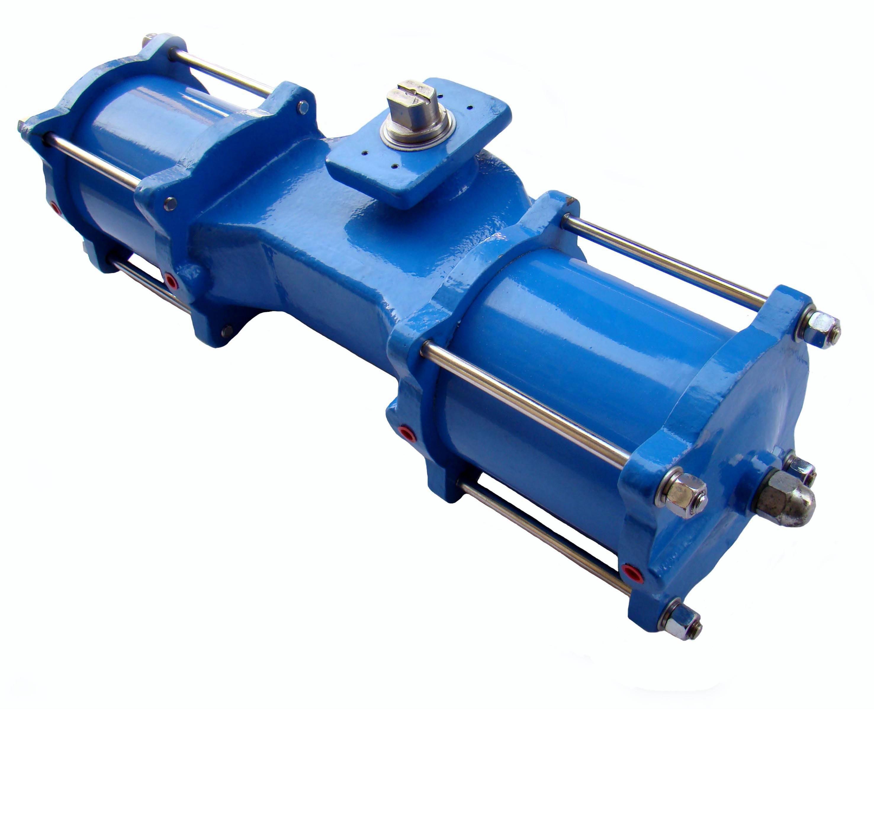 China Scotch Yoke Pneumatic Actuator supplier