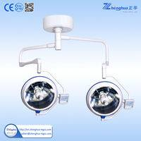 double ceiling shadowless type lamp,double dome surgical lamp,double head operating lamp,double head operating light,emergency operation lamp,emergency surgical lamp,medical examination operation lamp