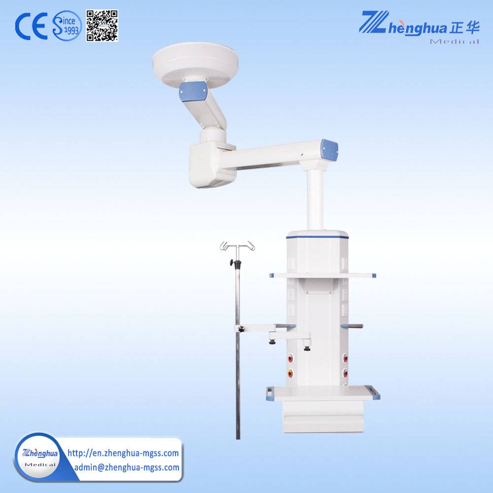 Surgical electrical double arm anesthesia tower medical pendant