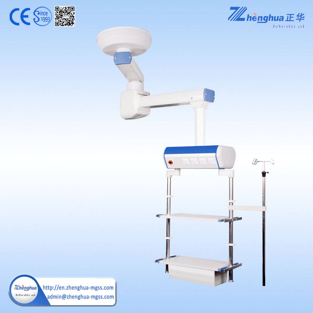 Manufacturer Double-arms Electrical Moved Medical Equipment Pendant