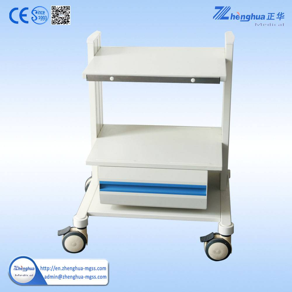 ZH-02A Medical Trolley Cart For Hospital