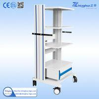 medical endoscope trolley,medical trolley cart,endoscopy cart,endoscopy cart trolley,endoscope medical emergency trolley,medical trolley in hospital,trolley for medical use,hospital trolley,stainless steel medical trolley,hospital trolley type first aid cart,surgical instrument trolley