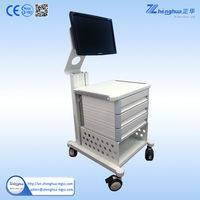 medical endoscope trolley,medical trolley cart,endoscopy cart,endoscopy cart trolley,hospital medical endoscopy trolley,medical trolley in hospital,trolley for medical use,hospital trolley,stainless steel medical trolley,multifunction medical cart,medical equipment cart