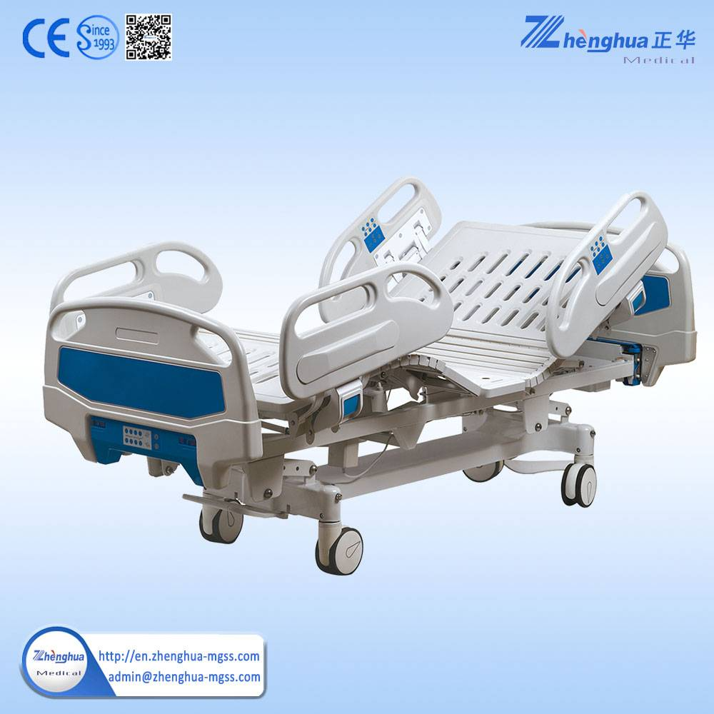 PP head/foot board hospital steel structure sick bed