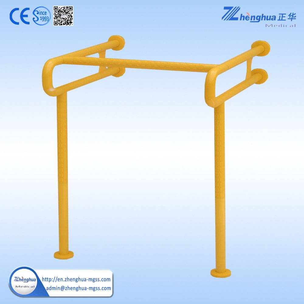 PVC Hospital wall mounted handrail