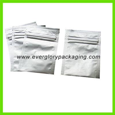 aluminum foil zip lock bag for herbal incense