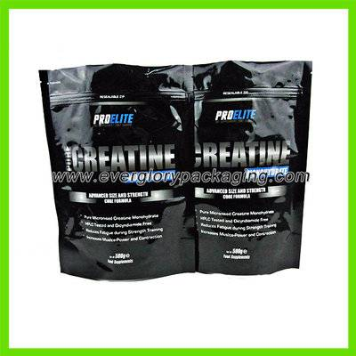Stand up aluminum foil whey protein powder bag