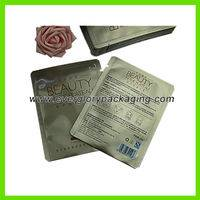 plastic facial mask bag,high quality plastic facial mask bag,vivid printing plastic facial mask bag