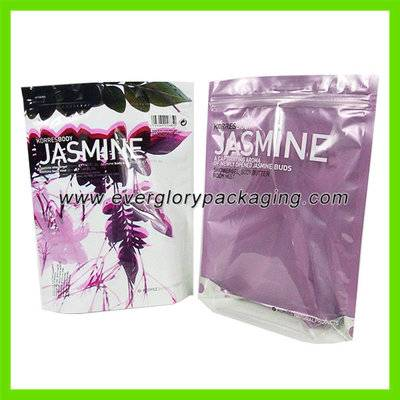 High quality Stand up private label cosmetic bags