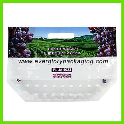 Custom printed grape packaging bag