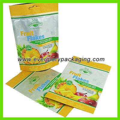 Hot sale high quality stand up aluminium foil bags food grade