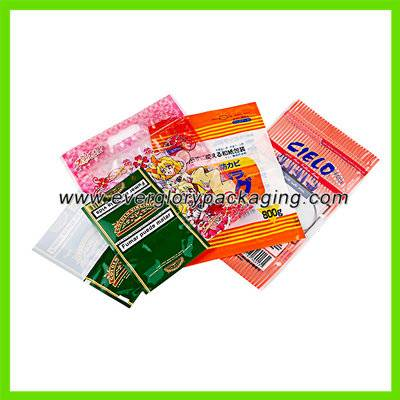 ISO9001 Custom Printed Zip Lock Plastic Bag For Hand Rolling Tobacco Pack