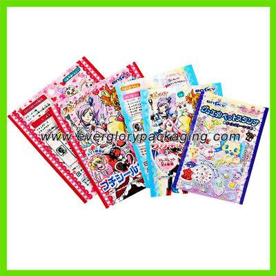 ISO9001 Custom Printed Plastic Packaging Bag For Toys/Mascot/figures Packing